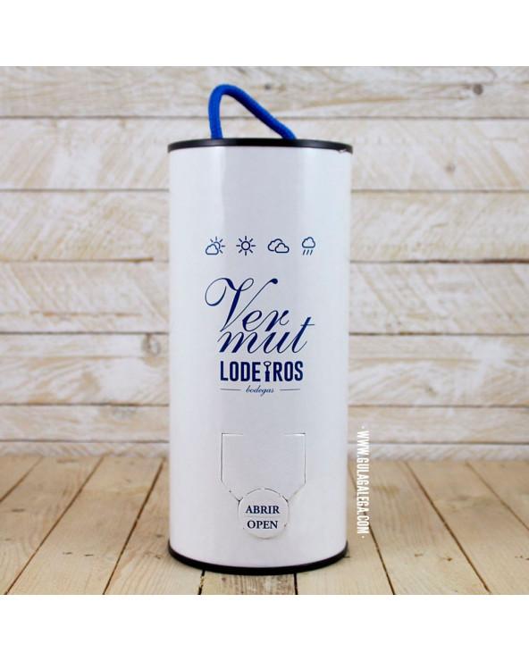 Vermut Blanco LODEIROS 5 litros (Recambio barrilete)