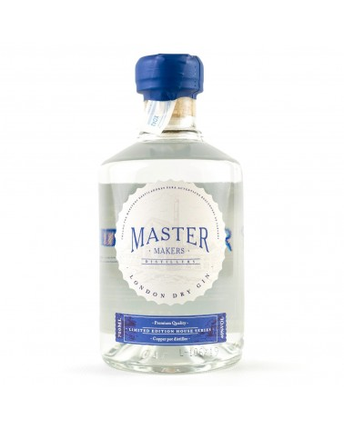 Ginebra MASTER MAKERS London Dry Gin 70 cl.