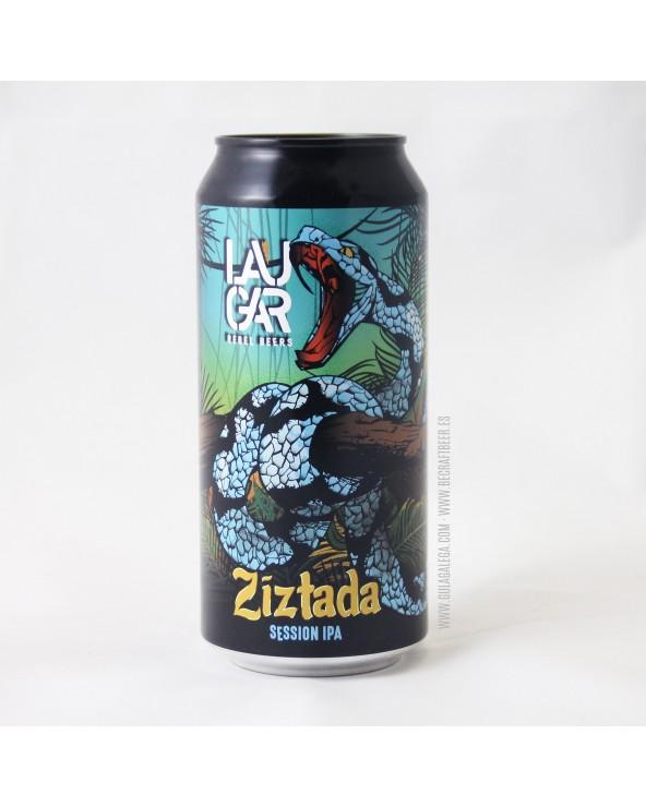 Cerveza Artesana LAUGAR Ziztada 44 cl.