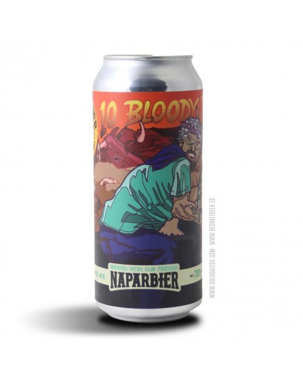 Cerveza Artesana BARRIER 10 Bloody Years 47,3 cl.