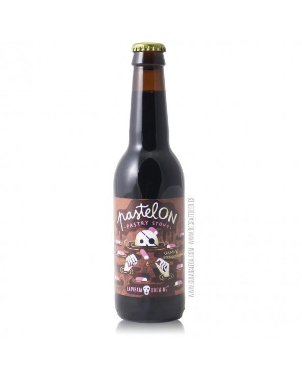 Cerveza Artesana LA PIRATA Pastelón 33 cl.