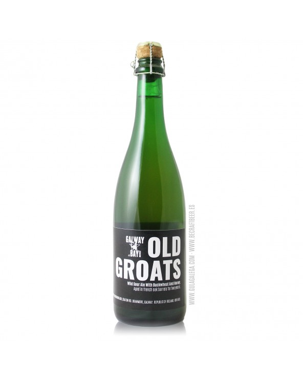 Cerveza Artesana GALWAY BAY Old Groats 75 cl.