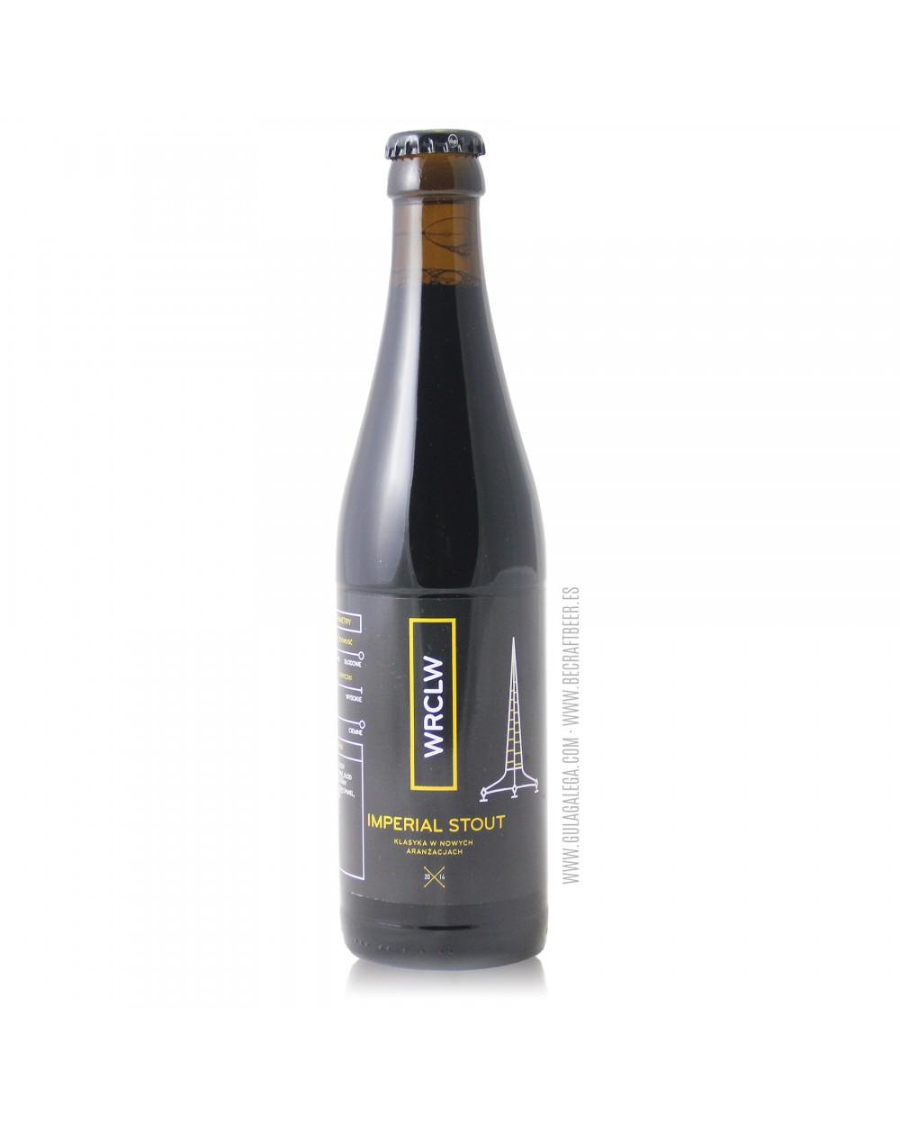 Cerveza Artesana STU MOSTÓW Imperial Stout 33 cl.