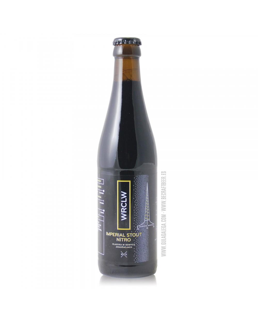 Cerveza Artesana STU MOSTÓW Imperial Stout Nitro 33 cl.
