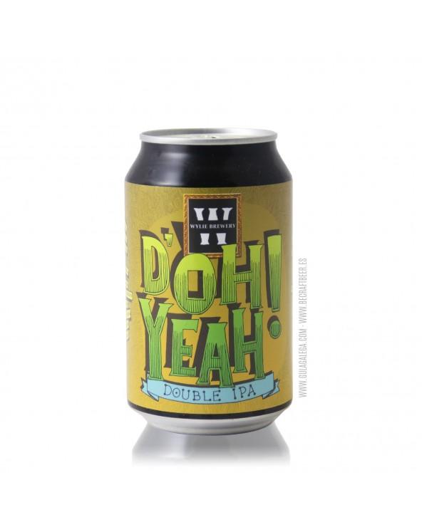 Cerveza Artesana WYLIE D'Oh Yeah! 33 cl.