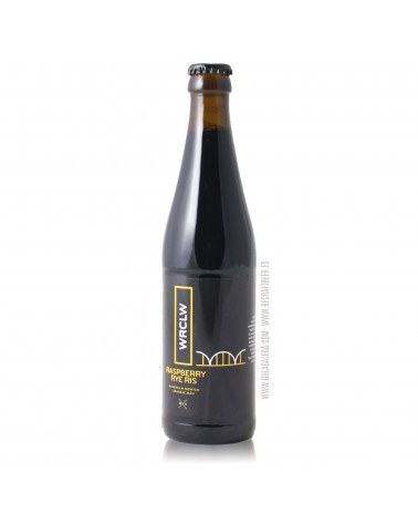 Cerveza Artesana STU MOSTÓW Raspberry Rye RIS 33 cl.