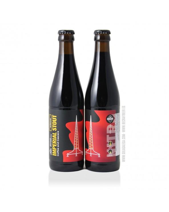 Cerveza Artesana STU MOSTÓW Coffee & Cascara Nitro 33 cl.