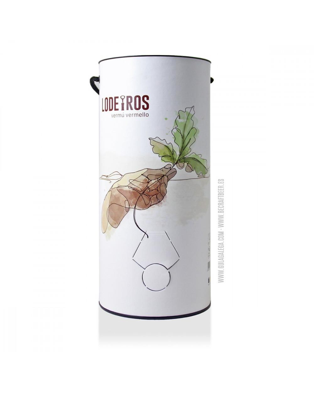 Vermut Rojo LODEIROS 5 litros (Recambio barrilete)