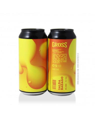 Cerveza Artesana GROSS Salda Badago 44 cl.