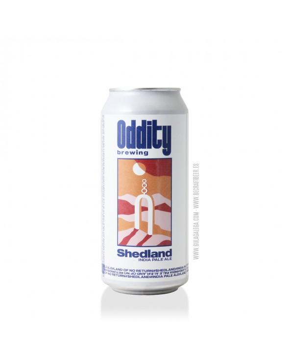 Cerveza Artesana ODDITY Shedland 44 cl.