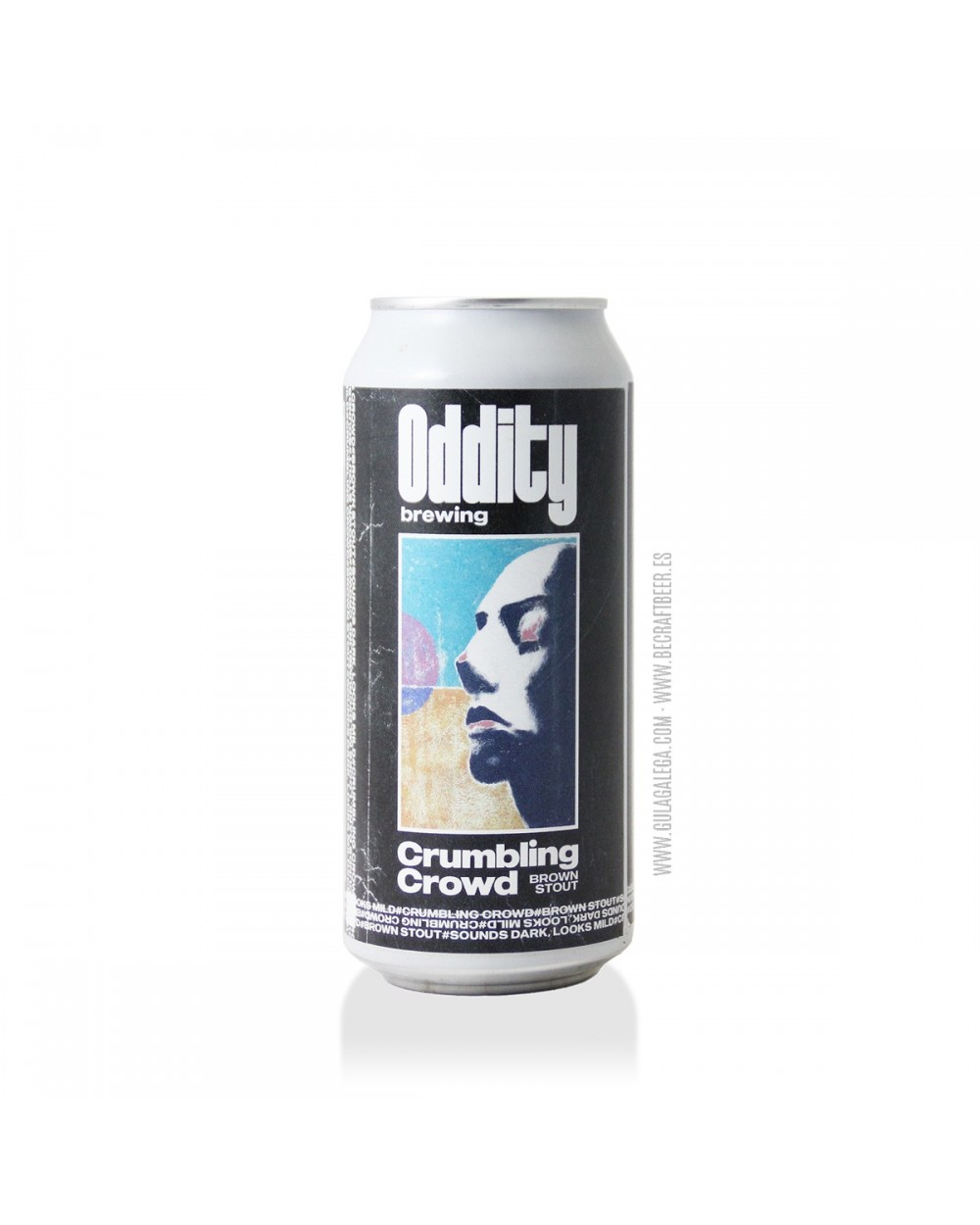 Cerveza Artesana ODDITY Crumbling Crowd 44 cl.