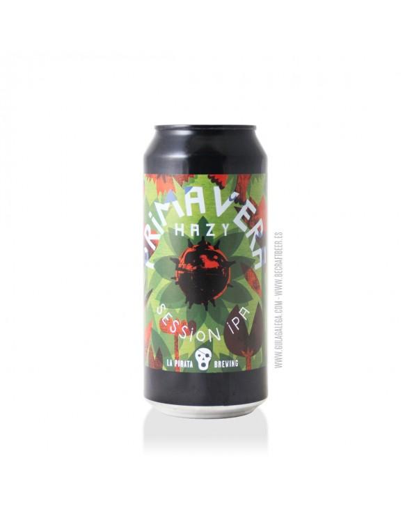 Cerveza Artesana LA PIRATA Hazy Primavera 44 cl.