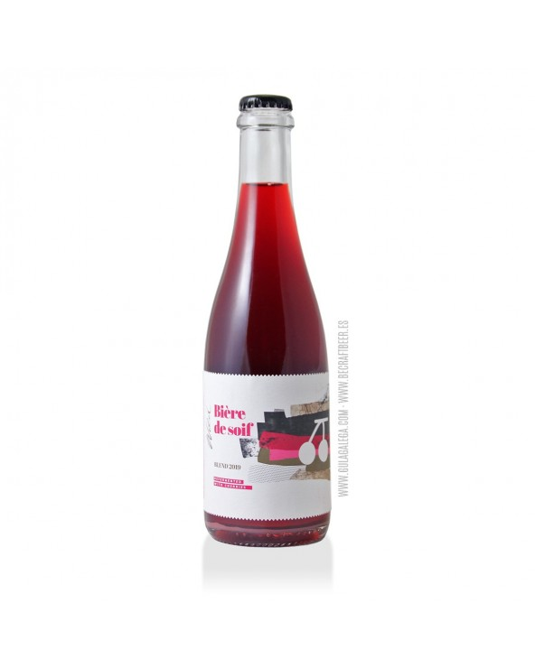 Cerveza Artesana STU MOSTÓW WILD Nº5 Cherries Blend 2019 37,5 cl.