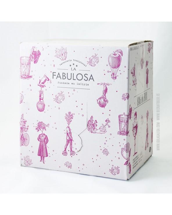 Vermut LA FABULOSA Rojo 5 Litros (Recambio Caja Madera)