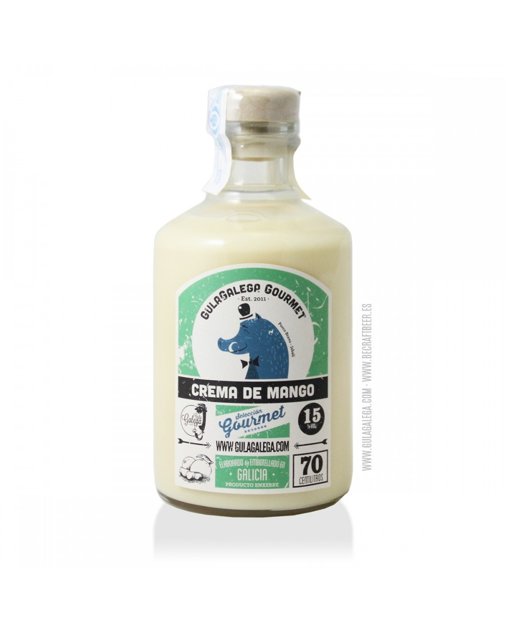 Crema de Mango GulaGalega Gourmet 70 cl.