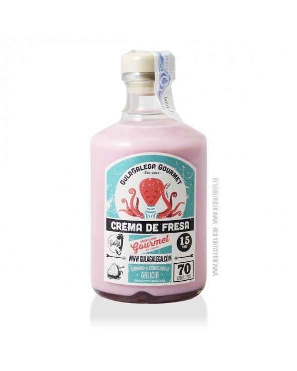 Crema de Fresa GulaGalega Gourmet 70 cl.