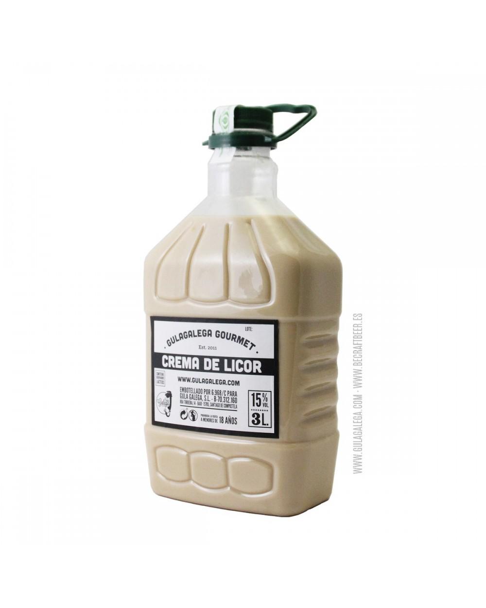 Crema de Licor GULAGALEGA GOURMET 3 Litros