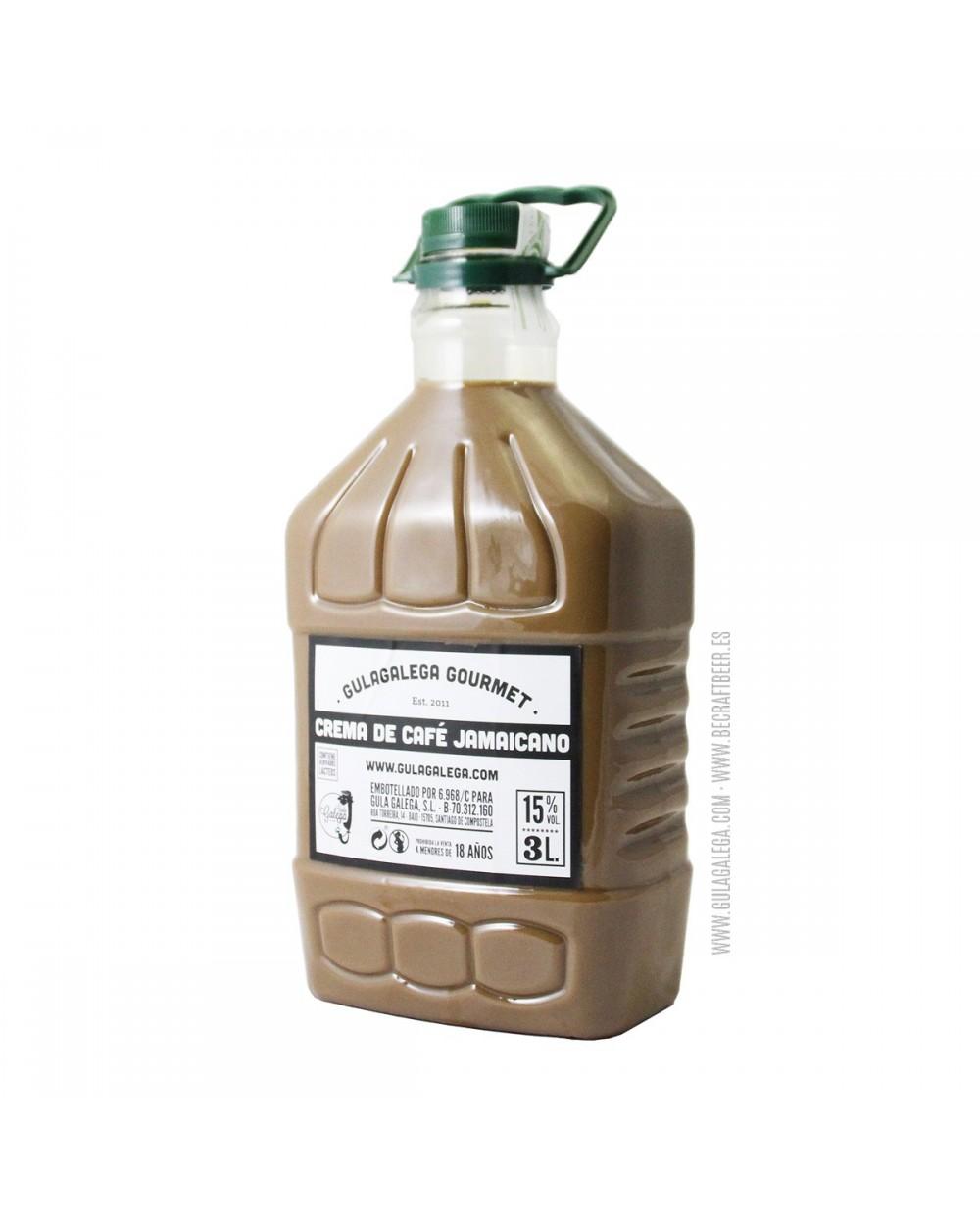 Crema de Café Jamaicano GULAGALEGA GOURMET 3 Litros