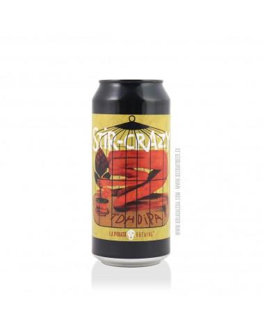 Cerveza Artesana LA PIRATA Stir Crazy 44 cl.