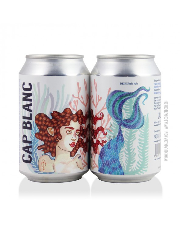 Cerveza Artesana ALTHAIA Cap Blanc 33 cl.