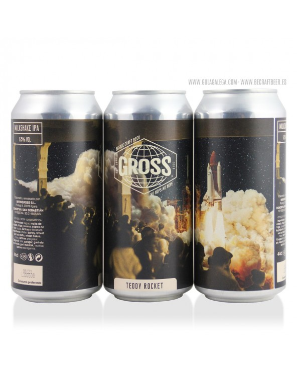 Cerveza Artesana GROSS Teddy Rocket 44 cl.