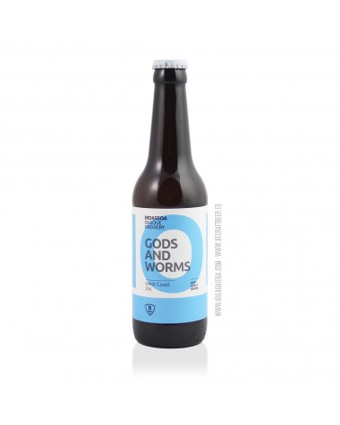Cerveza Artesana BIDASSOA Gods And Worms 33 cl.