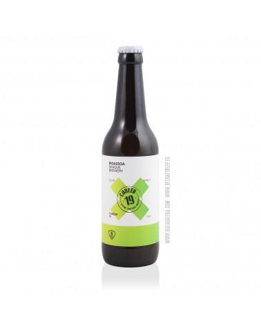 Cerveza Artesana BIDASSOA Cobeer 19 33 cl.