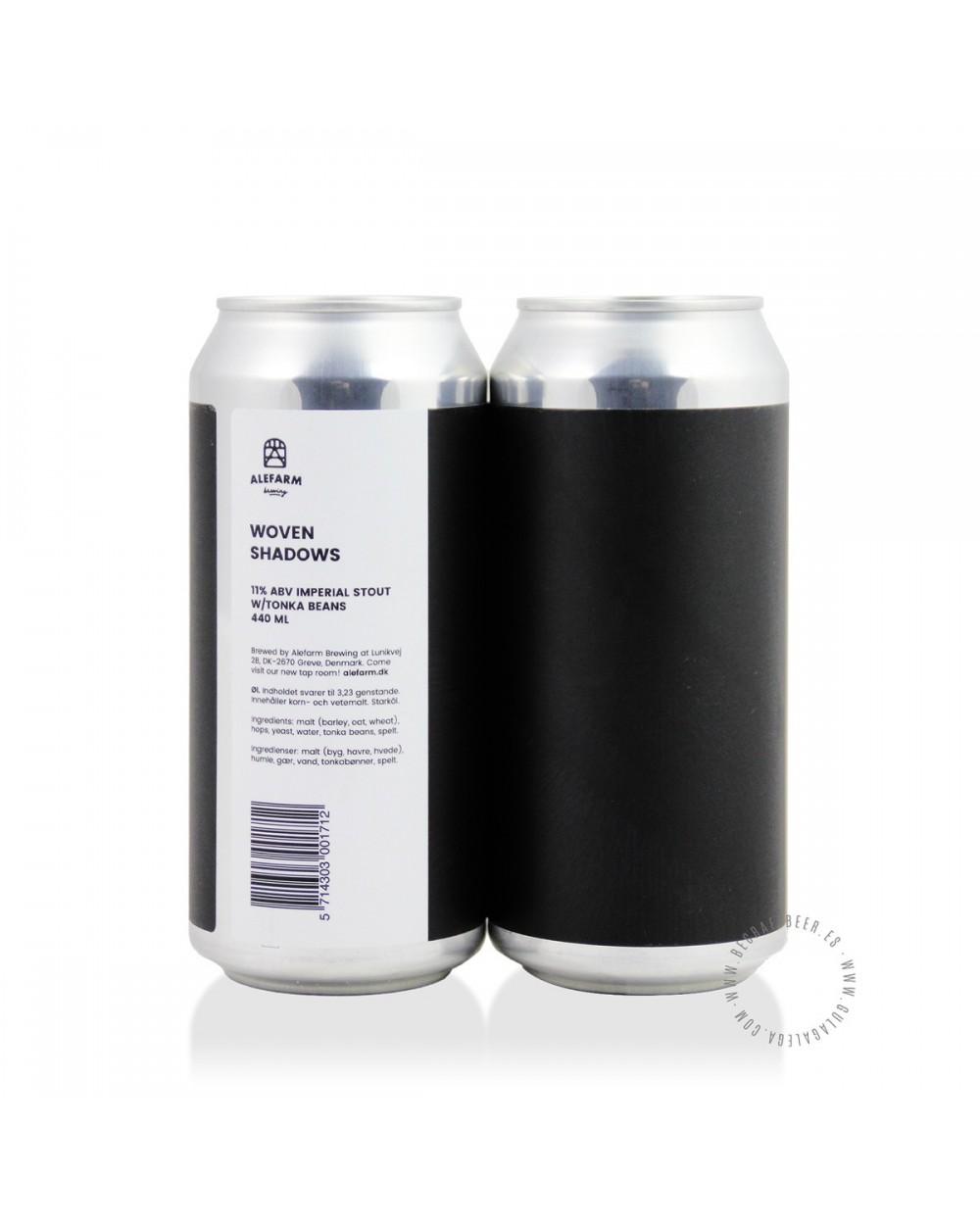 Cerveza Artesana ALEFARM Woven Shadows 44 cl.