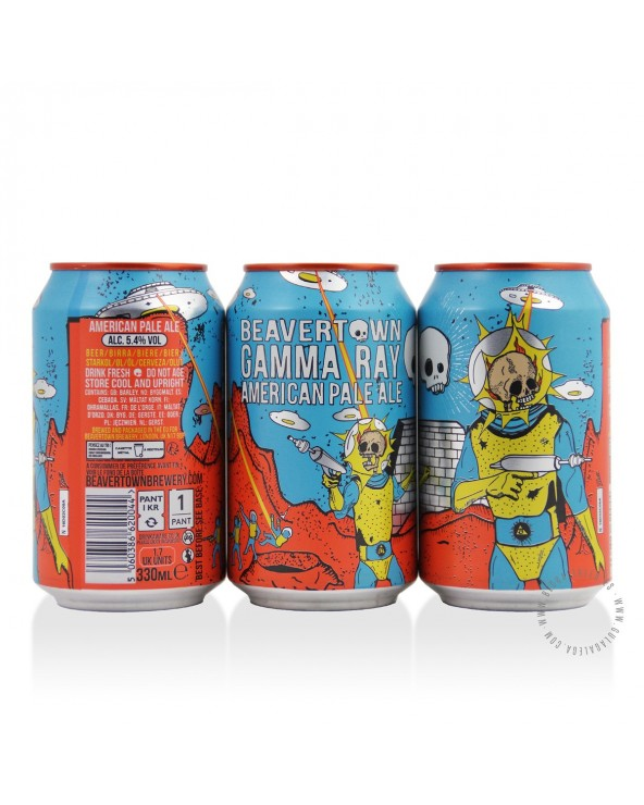 Cerveza Artesana BEAVERTOWN Gamma Ray 33 cl.