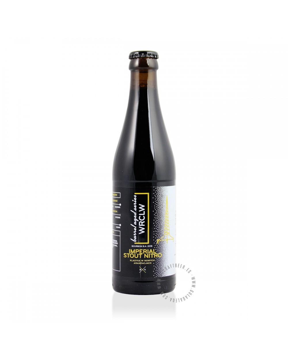 Cerveza Artesana STU MOSTÓW WRCLW Rye RIS Bourbon B.A. 2018 33 cl.