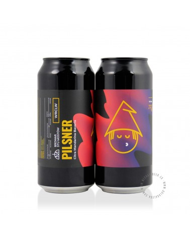 Cerveza Artesana STU MOSTÓW DH Pilsner Citra & Mandarina Bavaria 44 cl.