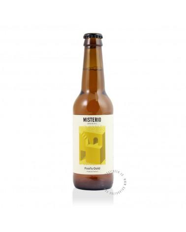 Cerveza Artesana MISTERIO Fool's Gold 33 cl.