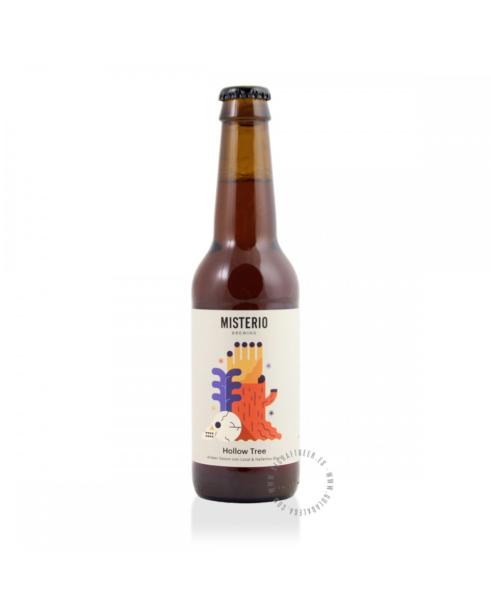 Cerveza Artesana MISTERIO Hollow Tree 33 cl.