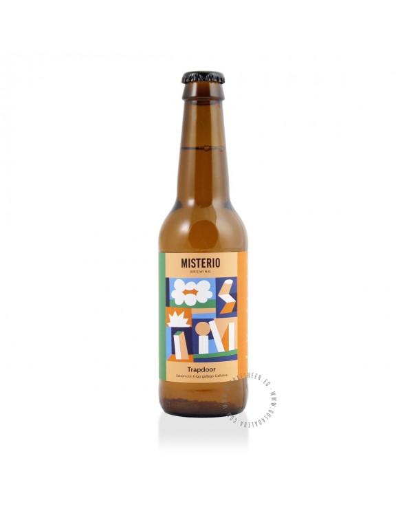 Cerveza Artesana MISTERIO Trapdoor 33 cl.