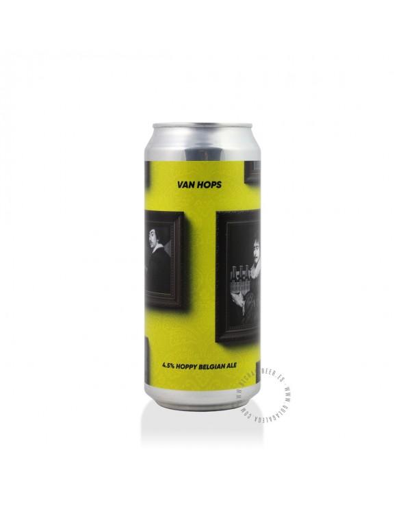 Cerveza Artesana REBEL'S Van Hops 40 cl.