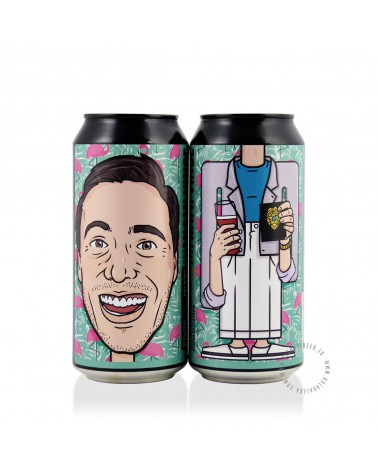 Cerveza Artesana EDGE Miami Vince 44 cl.