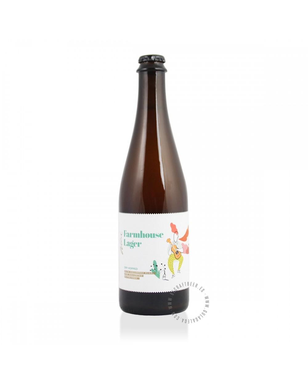 Cerveza Artesana STU MOSTÓW Wild 9 Farmhouse Lager 50 cl.