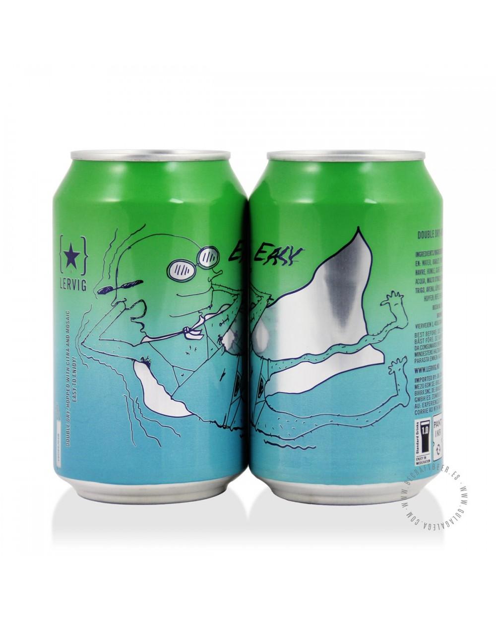 Cerveza Artesana LERVIG Easy 33 cl.