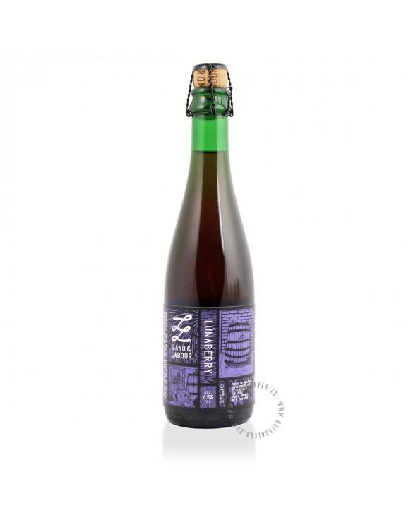 Cerveza Artesana LAND & LABOUR Lúnaberry 37,5 cl.
