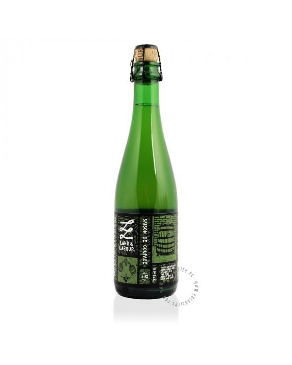 Cerveza Artesana LAND & LABOUR Saison de Coupage 37,5 cl.