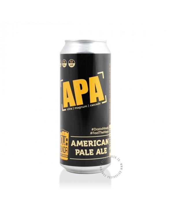 Cerveza Artesana NOVA RUNDA APA 50 cl.