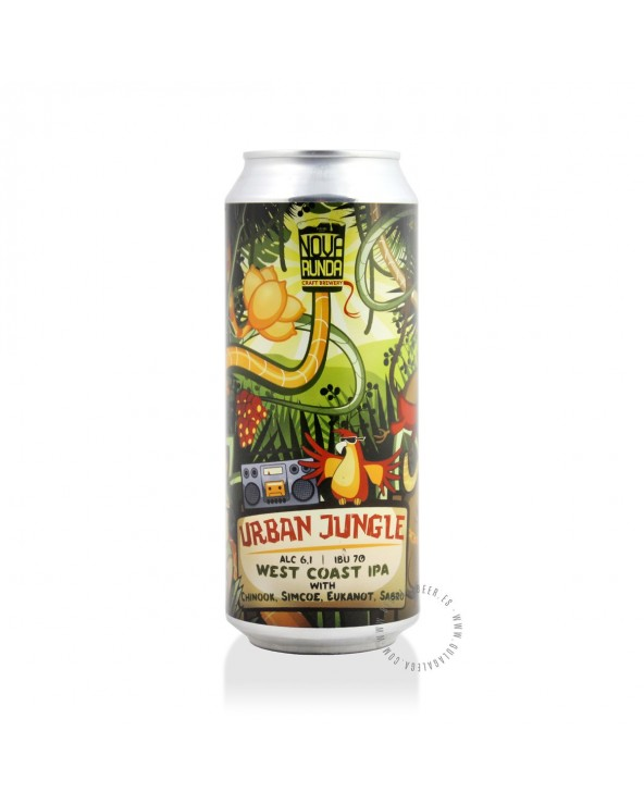 Cerveza Artesana NOVA RUNDA Urban Jungle 50 cl.