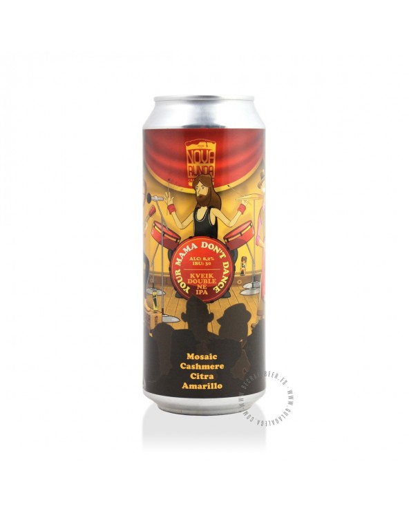 Cerveza Artesana NOVA RUNDA Your Mama Don't Dance 50 cl.