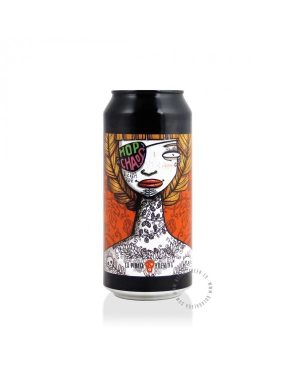 Cerveza Artesana LA PIRATA Hop Chaos 44 cl.