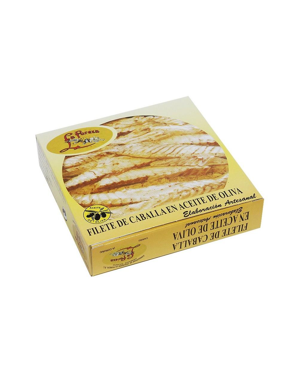 Filetes de Caballa en Aceite de Oliva LA PUREZA 275 gr.
