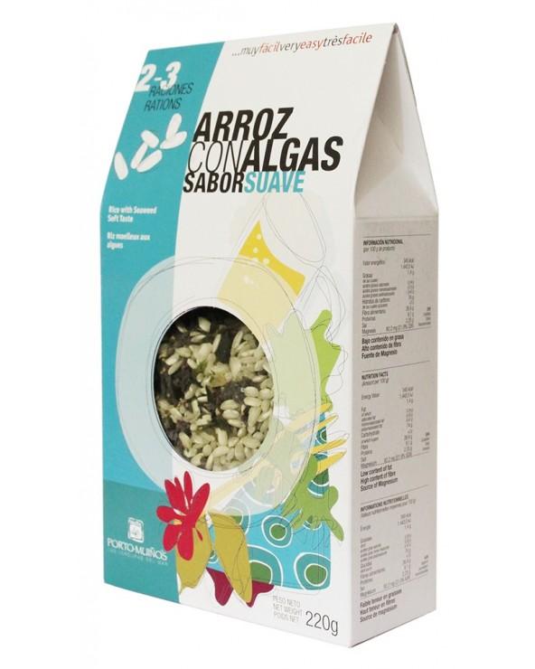 Arroz con Algas Sabor Suave PORTO-MUIÑOS