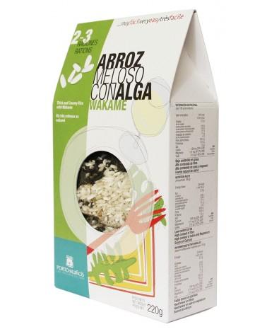 Arroz Meloso con Alga Wakame PORTO-MUIÑOS